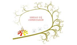 UNIDAD DE ORIENTACIÓN
