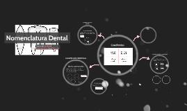 Copy of Nomenclatura Dental