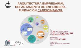 ARQUITECTURA EMPRESARIAL DEPARTAMENTO DE ENFERMERÍA, FUNDACI