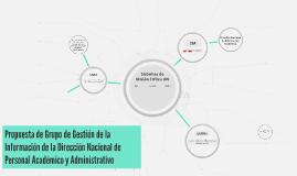 Propuesta de Grupo de Gestión de Información y Conocimiento