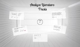 Analyze Literature: Quilden