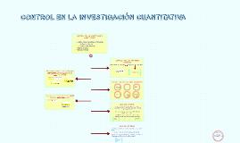 Copy of CONTROL EN LA INVESTIGACIÓN CUANTITATIVA
