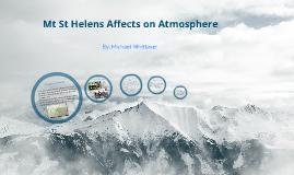 Mt St Helens Atmosphere