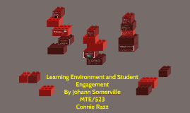 Learning environment and student engagement
