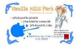 Vanilla Hills Discount