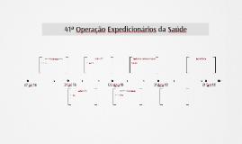 41ª Operação Expedicionários da Saúde