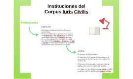 Instituciones del Corpus Iuris Civilis