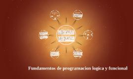 Fundamentos de la programacion logica