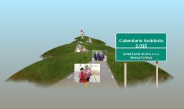 Calendario Solidario 2.015