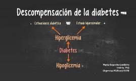 Descompensación de la diabetes