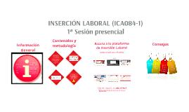 ICA 084 Inserción Laboral