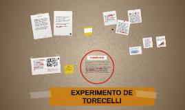 EXPERIMENTO DE TORECELLI