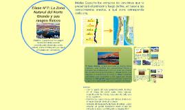 Clase N°7: La Zona Natural del Norte Grande y sus rasgos fís