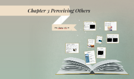 Chapter 3 Perceiving others
