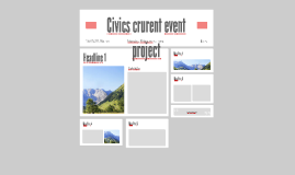 Civics crurent event project
