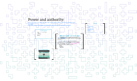 Power and authority: