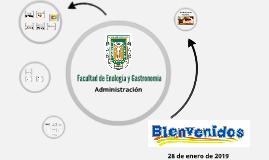 Presentación Encuadre ADMON.