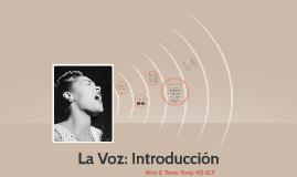 La Voz -tema introductorio-