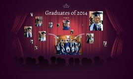 Graduates of 2014
