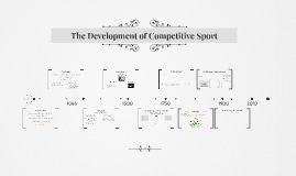 AS PE The Development of Competitive Sport (Part 1)