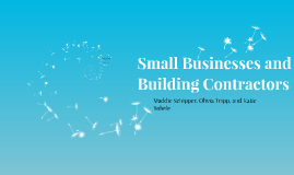 Small Businesses and
