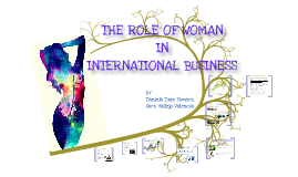 WOMAN IN INTERNATIONAL BUSINESS