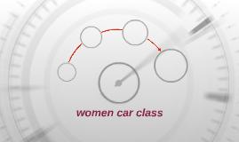 women car service