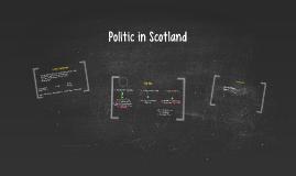 Politic in Scotland