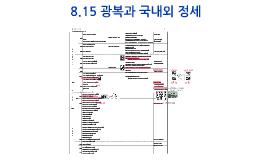 광복 이후 역사 전개