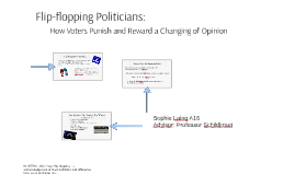 Copy of Flip-flopping Politicians: How Voters Punish and Reward a Ch
