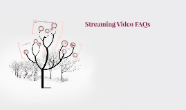 Streaming Video FAQs