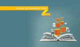Jackson and Nationalism