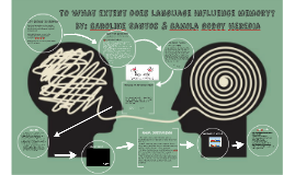 To what extent does language influence memory
