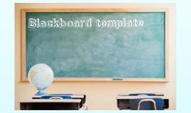 Copy of Blackboard template