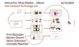 Interactive Shop Display - Athena