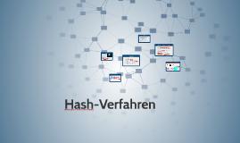 Hash-Verfahren