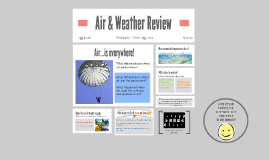 Air and Weather Science Review