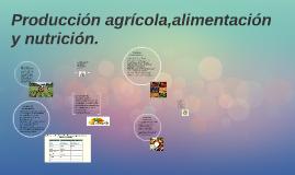 Copy of Producción agrícola,alimentación y nutrición.