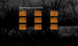 Lake Traverse Fire