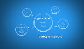 Crimes Against the Elderly