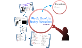 Black Rook in Rainy Weather