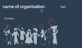 name of organisation