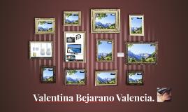 Valentina Bejarano Valencia.