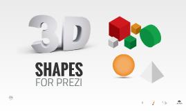 Copia de 3D Shapes in Prezi - Free Template