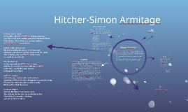 hitcher simon armitage Comparison of stealing and hitcher in this essay, i will be comparing two poems stealing, by carol ann duffy and hitcher, by simon armitage i will be using several categories in which to structure my comparison, which include style of language and structure.