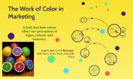 The Work of Color in Marketing