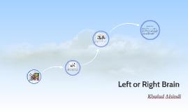 Left or Right Brain