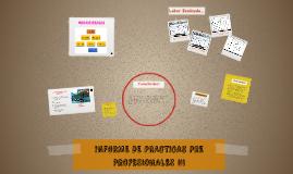 INFORME DE PRACTICAS PRE PROFESIONALES III