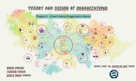 Theory and desıgn of organızatıons