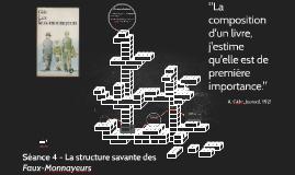 séance 3 - La structure savante des Faux-Monnayeurs